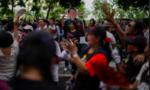 Người Thái biểu tình đòi tổ chức bầu cử sớm