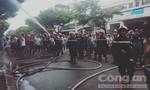 Cháy nhà, người dân hốt hoảng bỏ chạy
