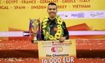 Chiến thắng vang dội, tay cơ Việt Nam lọt top 10 thế giới