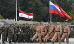 Bốn lính Nga chết vì đạn súng cối của phiến quân Syria