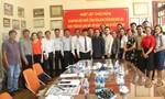 Đoàn báo chí Lào thăm Báo Công an TP.HCM