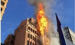 Lửa nhấn chìm tòa nhà văn phòng ở Sydney