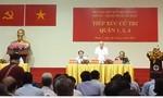 Chủ tịch nước Trần Đại Quang xin phép vắng trong buổi tiếp xúc cử tri