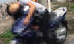 Thanh niên gục chết trên xe máy trong tư thế đứng