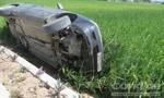 """Liên tiếp hai vụ tai nạn liên quan đến ô tô... """"tự bay"""""""