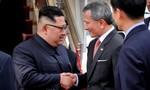 Nhà lãnh đạo Kim Jong Un đã đến Singapore