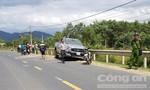 Xe bán tải lấn làn tông  xe máy, 1 người tử vong tại chỗ