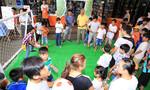 Cùng trẻ em có hoàn cảnh khó khăn vui mùa World Cup