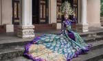 Chi Nguyễn mặc Quốc phục 20kg tại Miss Asia World 2018
