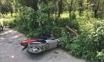 Xe tay ga tông cột đèn, nam thanh niên tử nạn tại chỗ