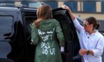 Mặc áo 'không quan tâm', đệ nhất phu nhân Mỹ bị chỉ trích