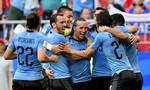 Ra sân với nhiều cầu thủ dự bị, Nga thua Uruguay 0-3