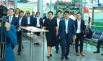 Lãnh đạo TP Hà Nội dự Hội chợ công nghệ tự động hoá tại Đức