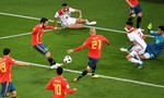 Clip diễn biến chính trận Tây Ban Nha - Maroc