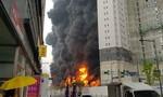 Cháy ở công trường xây dựng Hàn Quốc, 40 người thương vong