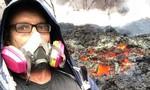 Du khách 'tự sướng' với núi lửa ở Hawaii sẽ phải... ở tù