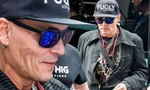 Tài tử Johnny Depp gây sốc với bộ dạng tiều tuỵ