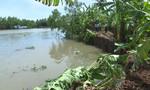 Sạt lở lớn ở Sóc Trăng, 40 hộ dân bị ảnh hưởng