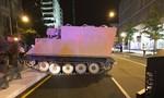 Binh sĩ Mỹ đánh cắp xe thiết giáp quân sự chạy trốn
