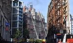 Khách sạn sang trọng hàng đầu ở Anh cháy dữ dội