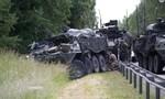 Bốn xe bọc thép tông nhau, 13 lính Mỹ bị thương
