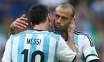 Mascherano giã từ ĐT Argentina, nhắn nhủ Messi