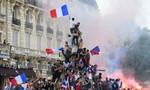 Biển người Pháp ra đường đón tân vương World Cup 2018