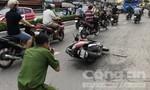 Dùng mã tấu cướp xe hòng thoát thân khi bị truy bắt ở Sài Gòn