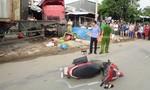 Thăm hỏi gia đình nạn nhân bị container tông tử vong