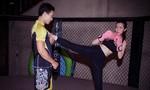 Cao Thái Hà luyện võ tại võ đường của Johnny Trí Nguyễn