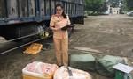 Phát hiện xe chở 2,5 tấn thịt thối từ Hà Nội và TP.HCM