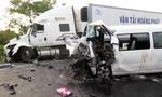 Bộ trưởng GTVT kiểm tra hiện trường vụ tai nạn 13 người chết