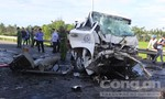 Hiện trường vụ tai nạn thảm khốc 13 người tử vong