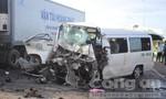 Xe đi rước dâu gặp tai nạn thảm khốc, 13 người chết, 4 người nguy kịch