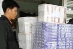 Kiểm tra 3 căn nhà, phát hiện 23.000 gói thuốc lá lậu