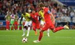 Clip diễn biến chính trận Anh - Colombia