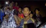 Đội bóng nhí Thái Lan học lặn để thoát khỏi hang động