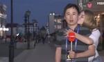 Đến lượt nam phóng viên bị hôn trộm tại World Cup