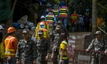 Thợ lặn tử vong khi giải cứu đội bóng nhí Thái Lan