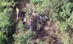 Máy bay Thái Lan rơi xuống biên giới giáp Myanmar, 3 người chết