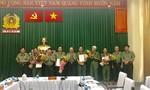 Khen thưởng các đơn vị Công an TP.HCM phá vụ đặt bom khủng bố