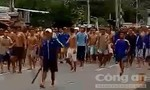 """Hàng chục học viên cai nghiện ở Tiền Giang """"vượt rào"""" tràn ra đường"""