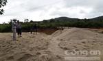 Phát hiện mỏ cát lậu lớn ở vùng giáp ranh Gia Lai và Kon Tum