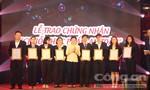 """TP.HCM trao 33 chứng nhận """"Chuỗi thực phẩm an toàn"""" cho Saigon Co.op."""