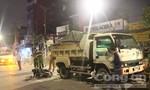 Tông đuôi xe ben đậu bên đường ở Sài Gòn, một người tử nạn