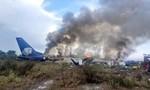 Clip ghi lại khoảnh khắc lúc máy bay chở 103 người rơi