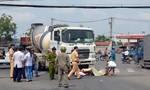 Tai nạn liên hoàn từ xe bồn đậu trên đường, 6 người thương vong