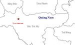 Lại động đất 3.1 độ Richter ở huyện Bắc Trà My