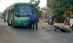 Xe máy va chạm với xe buýt, nam thanh niên tử vong