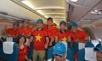 Vietnam Airlines bố trí máy bay riêng đón đoàn thể thao Việt Nam